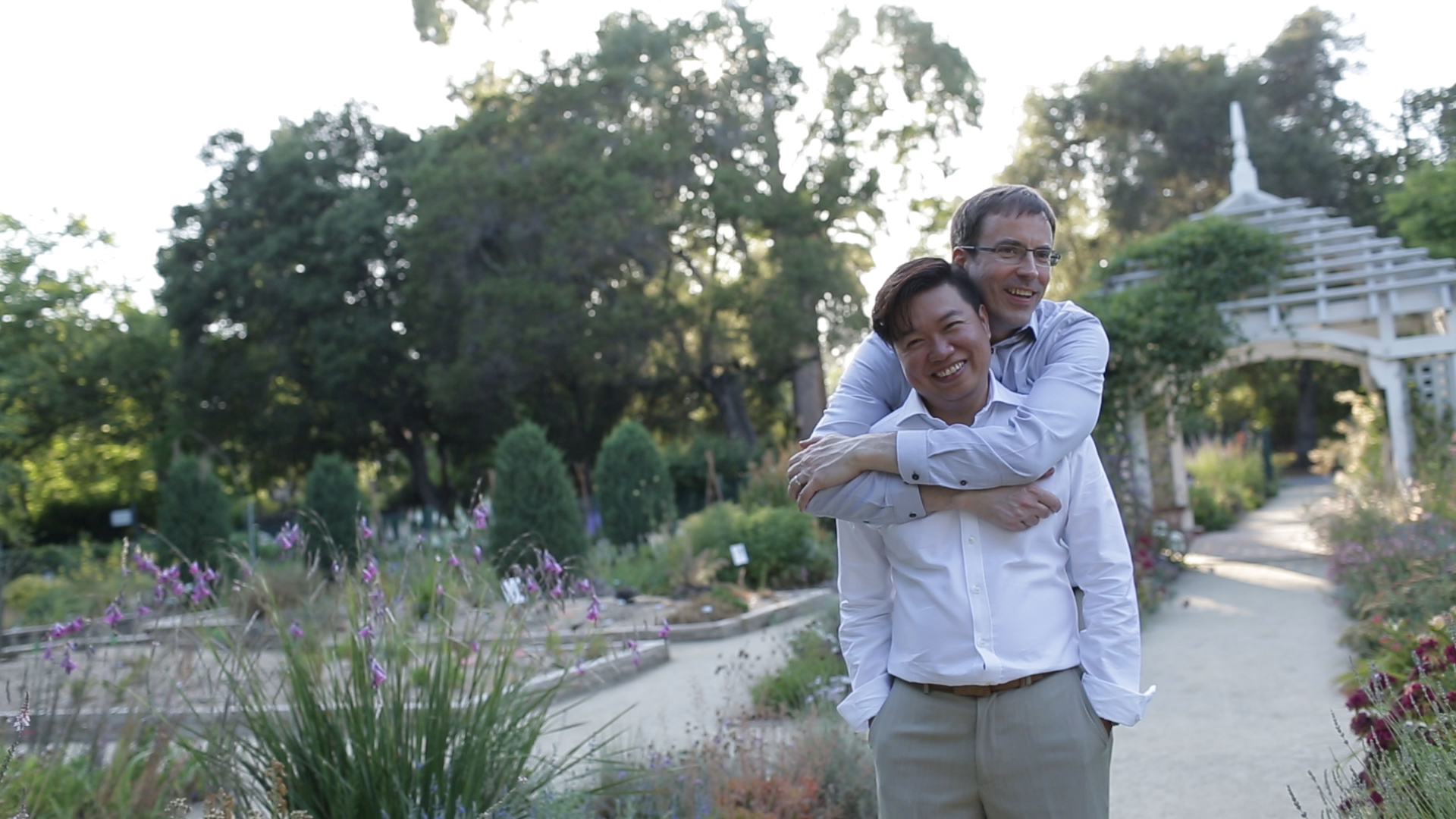 Ben and David Elizabeth Gamble Garden Wedding Videographer Palo Alto Weddign Videographer