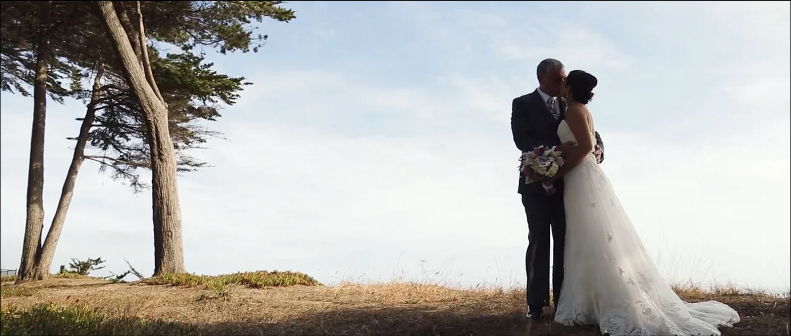 Chris and Tiffaney Seascape wedding videographer, Aptos California